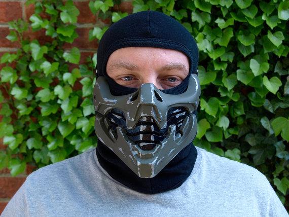 Unique Half Face Masks By Hidden Assassins