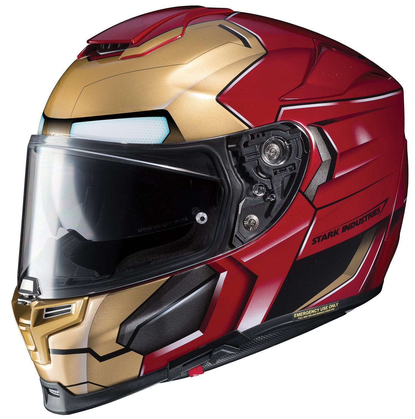 HJC RPHA 70 ST Iron Man Motorcycle Helmet Review