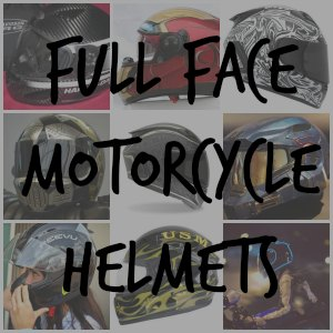 full face motorcycle helmets button