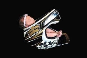 cute baby in Payton Helmet