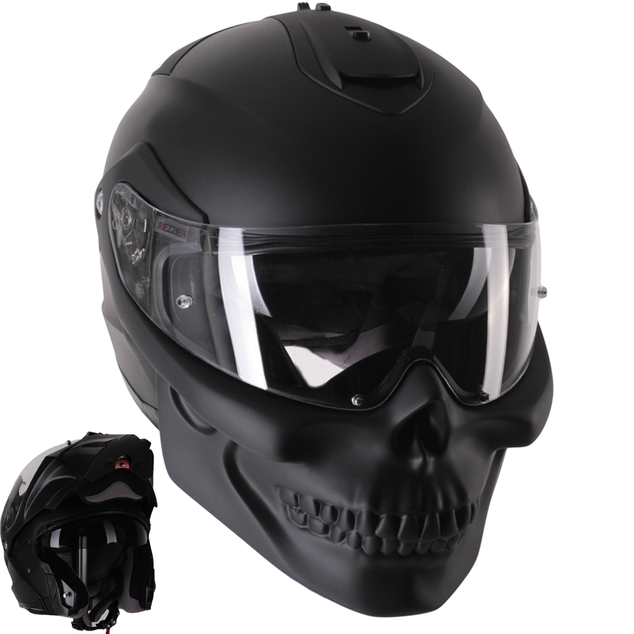 Favoriete Skull Motorcycle Helmets - WARNING; Not all Skulls are created equal. @AV04