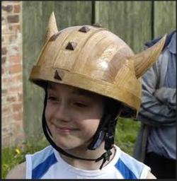 Wood Motorcycle Helmet