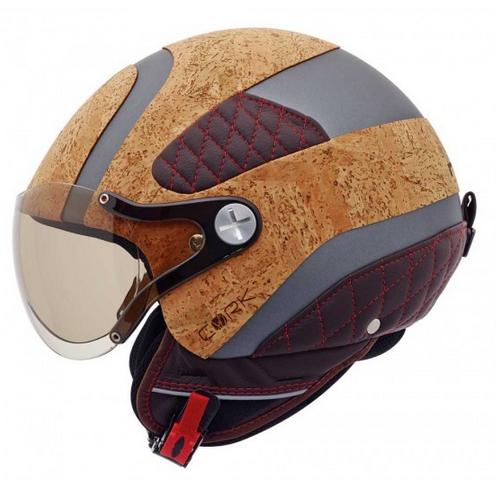 cork motorcycle helmet by nexx