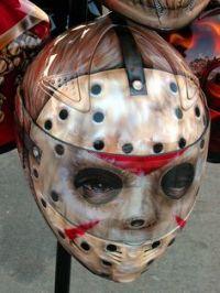 jason mask motorcycle helmet
