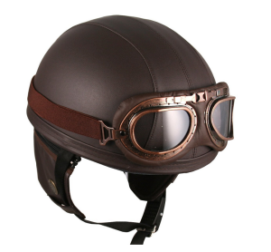 leather motorcycle helmet 1