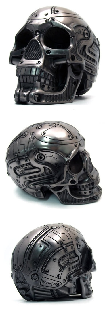 Skull Motorcycle Helmets Warning Not All Skulls Are