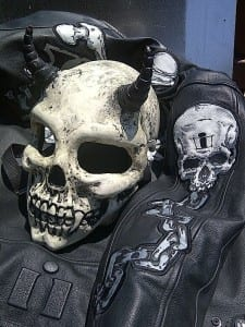 real skull from deviltail customs