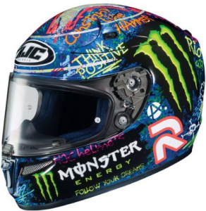 energy drink motorcycle helmets monster vs rebull. Black Bedroom Furniture Sets. Home Design Ideas