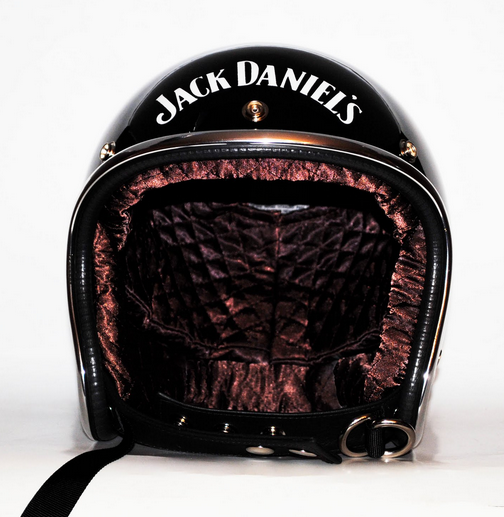 jack daniels half helmets