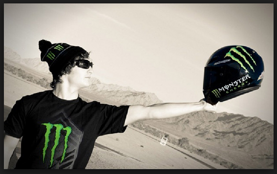monster energy motorcycle helmet