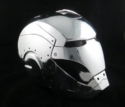 Custom Motorcycle Helmet Conversions How To Make An Iron