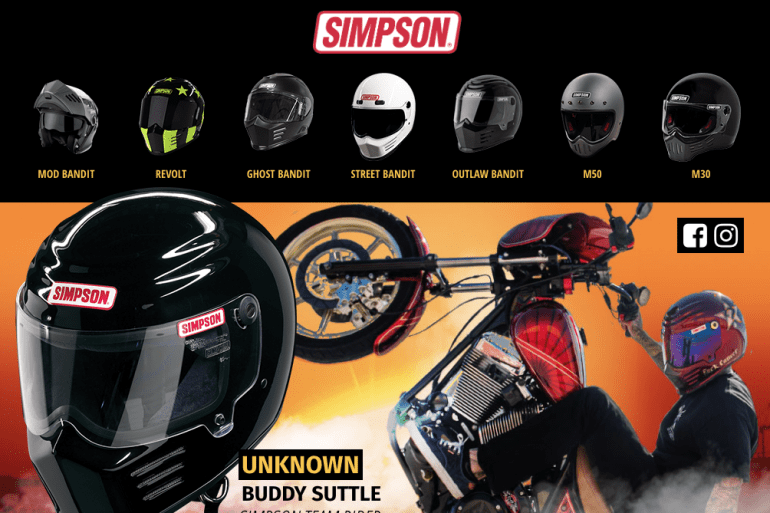 Simpson Motorcycle Helmets