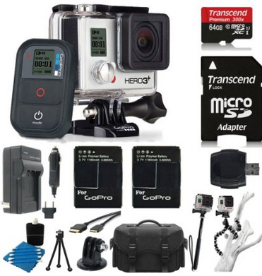The GoPro HD Helmet Hero bundle