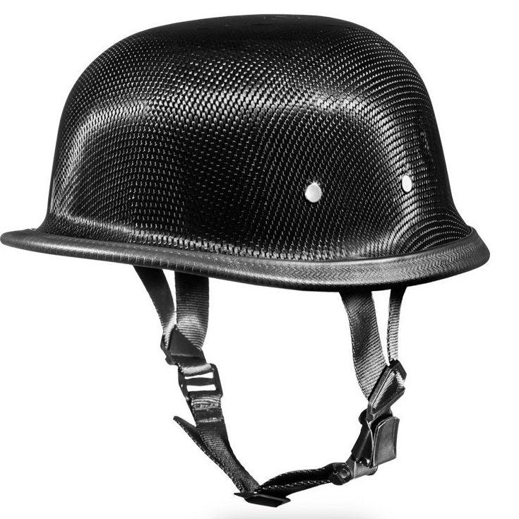 Daytona Carbon Fiber Half Helmet