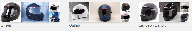 simpson bandit brands of helmets