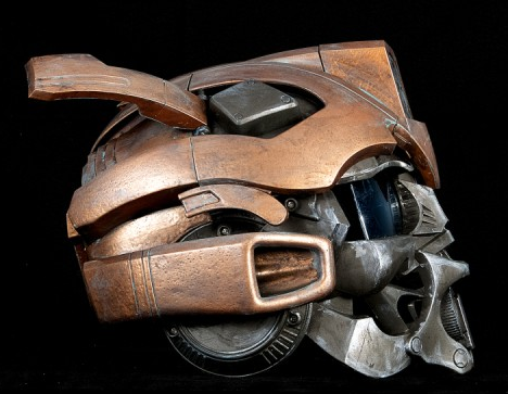 Steampunk Copper Bumblebee Helmet Profile by artfordable on deviantART