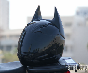 batman motorcycle helmet by helmet dawg