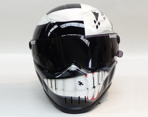 Geliefde 50 Coolest Motorcycles Helmets and 3 you can NEVER get caught wearing &QX98