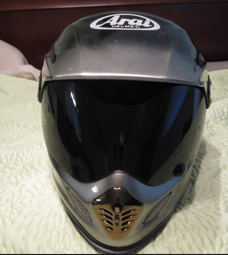 Arai XD3 extreme helmet in grey