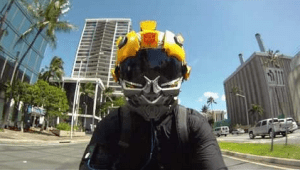 bumble bee motorcycle helmet