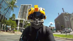 bumble bee motorcycle helmet