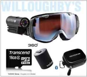 contourhd 1080p helmet camera accessory kit