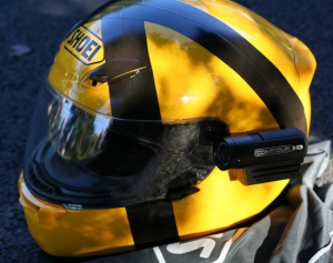 contourhd 1080p motorcycle helmet camera on shoei helmet
