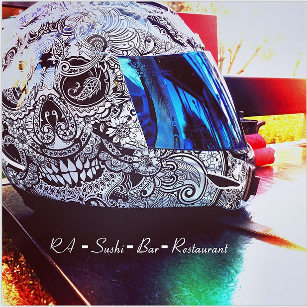 Coolest Motorcycles Helmets And You Can NEVER Get Caught Wearing - Custom motorcycle helmet stickers and decalssimpson motorcycle helmets