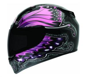Bell Monarch Women s Vortex Motorcycle Helmet Pink2