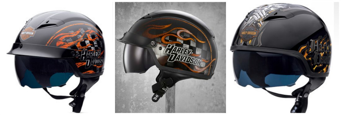 Harley Davidson Motorcycle Helmet Collection