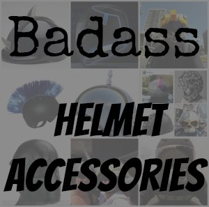 Motorcycle helmet accessories button
