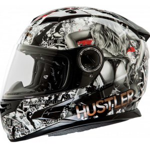 Rockhard Hustle Full faced Helmet