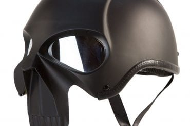 Stryker Darth Knight Motorcycle Helmet