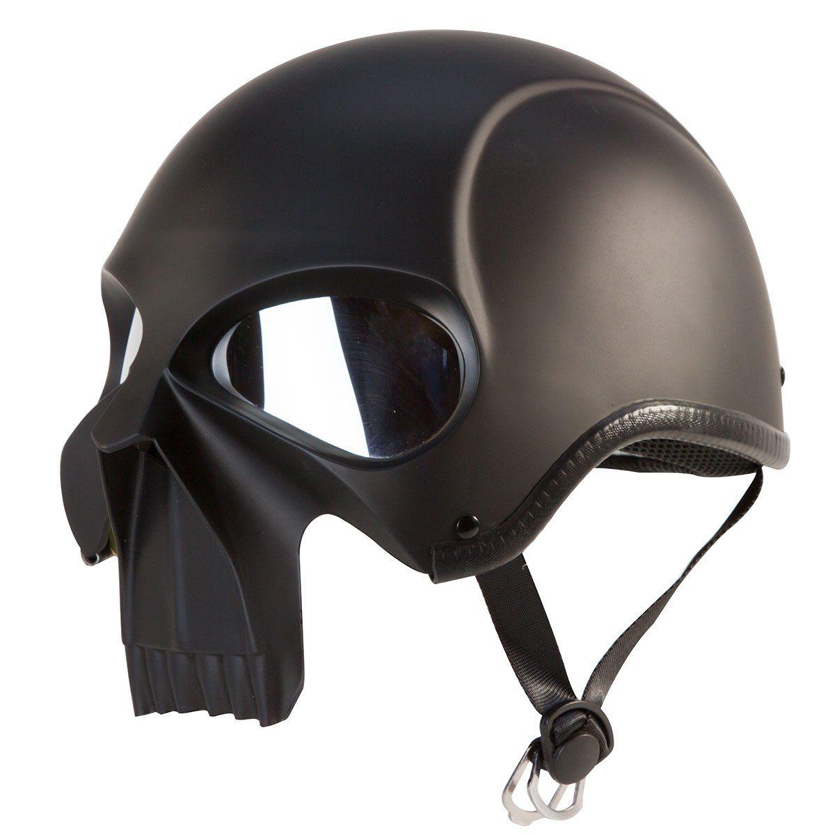 Stryker Darth Knight Motorcycle Helmet