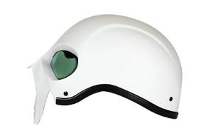 Stryker Darth Knight Motorcycle Helmet white