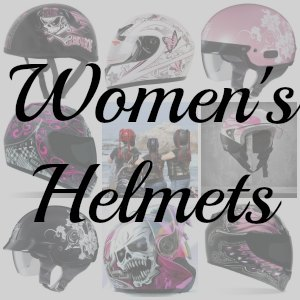 Womens motorcycle helmet button