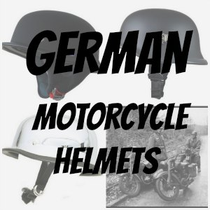 german motorcycle helmet button