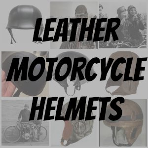 leather motorcycle helmet button