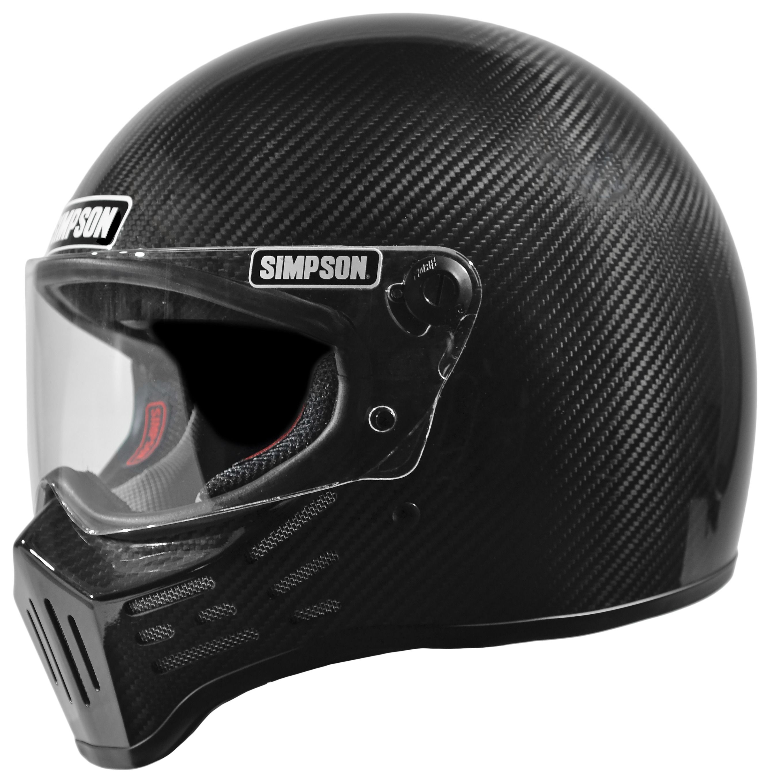 Simpson M30 Carbon Fiber Helmet