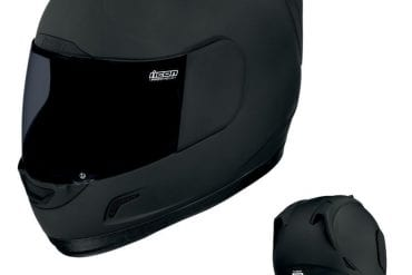 Icon Alliance Dark Helmet
