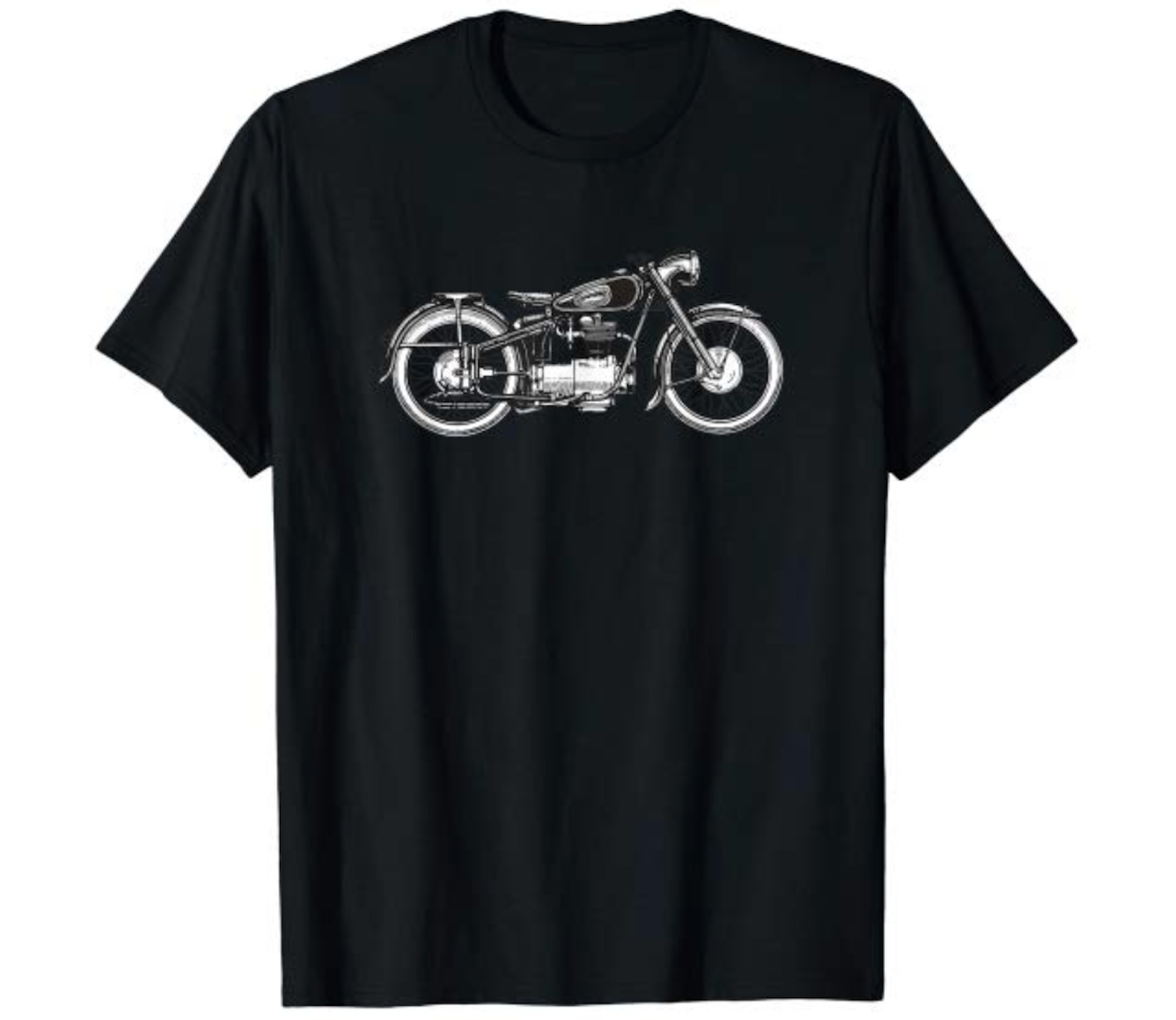 Retro vintage motorcycle shirt