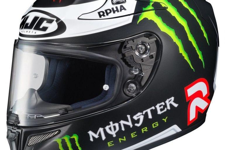 HJC RPHA-10 Pro Lorenzo Replica III Motorcycle Helmet