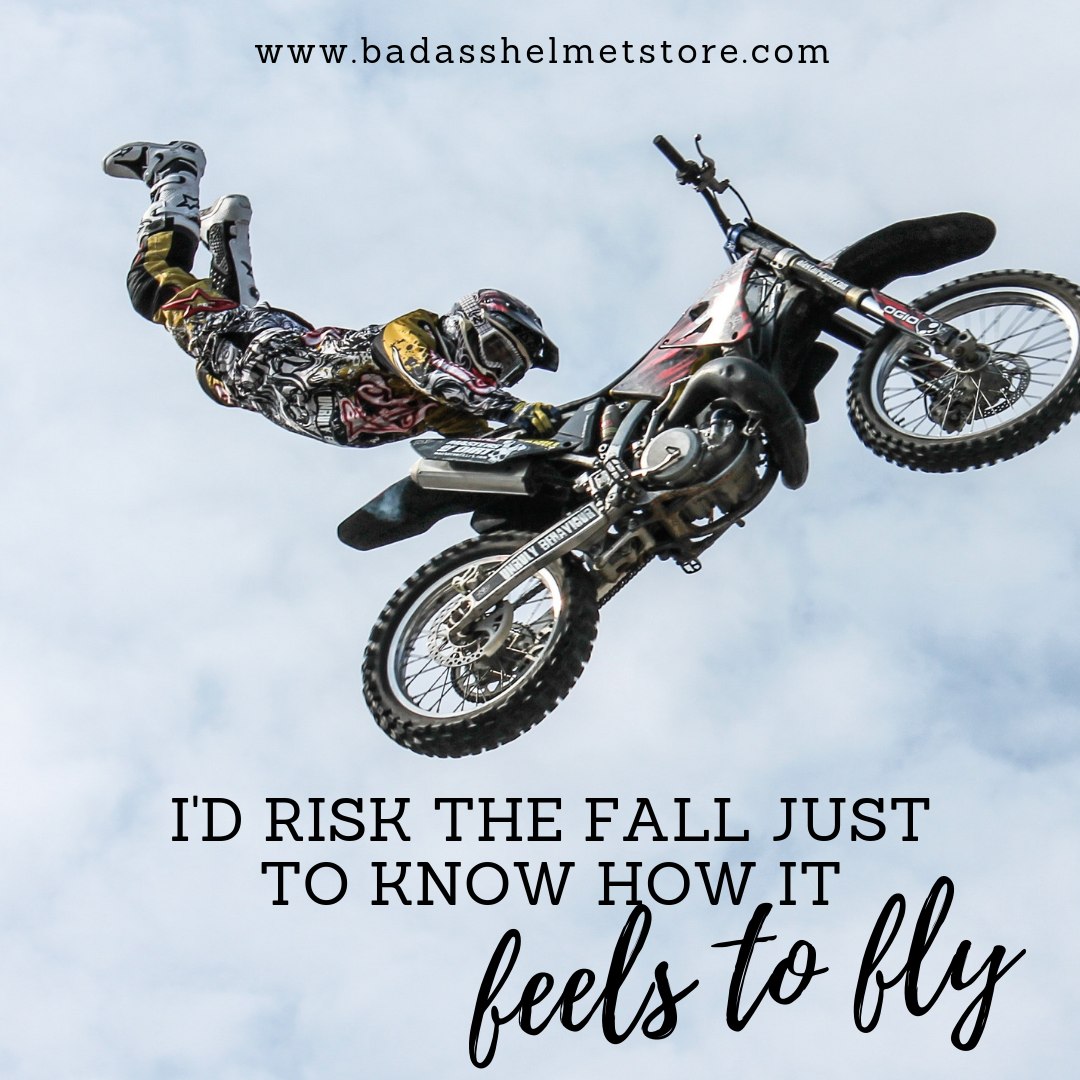 I'd risk the fall just to know how it feels to fly