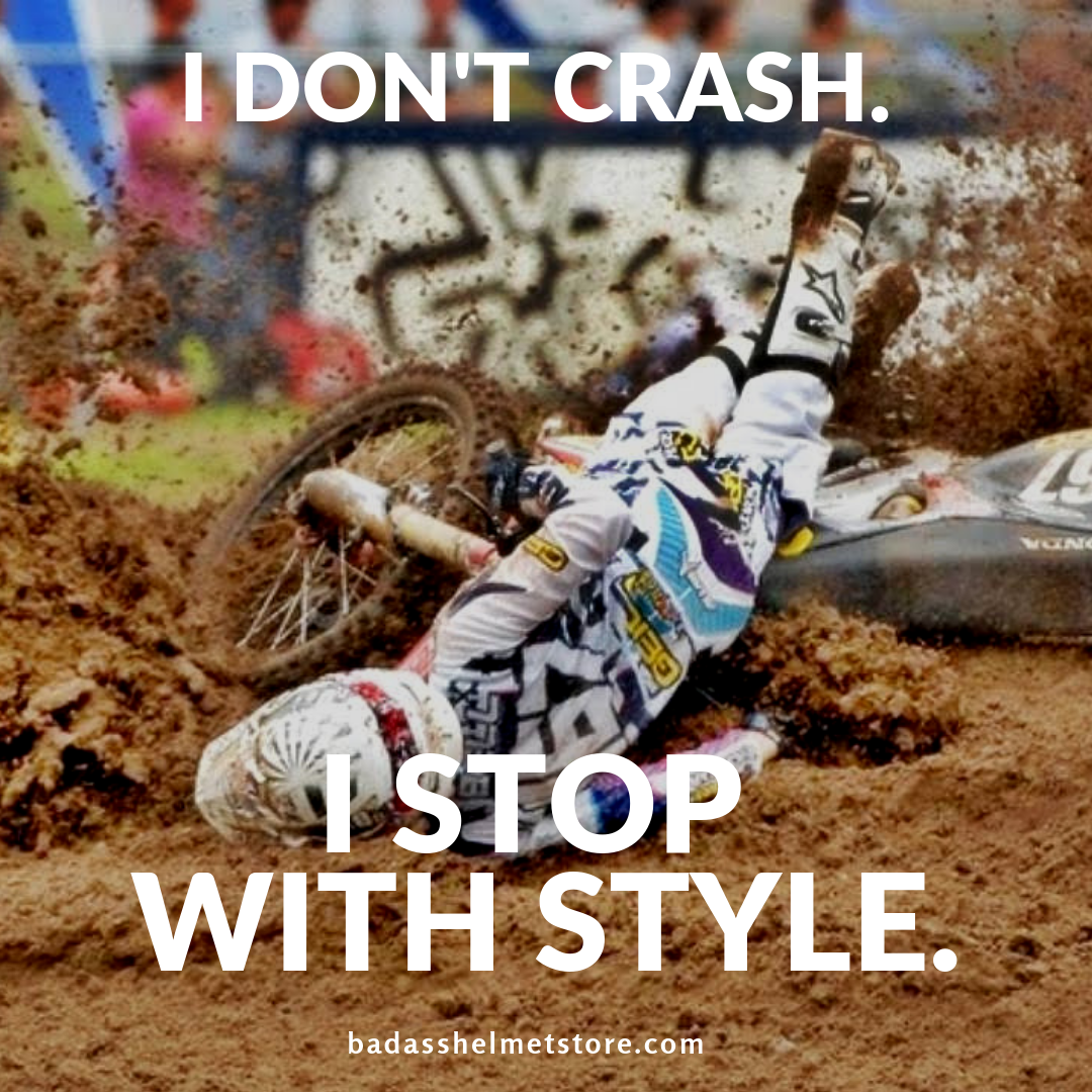 i dont crash i stop with style