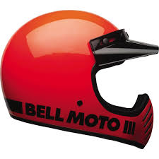 The Bell Moto 3 Motorcycle Helmet