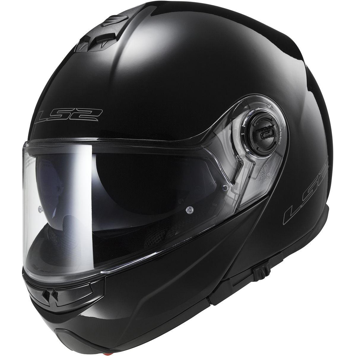 LS2 Strobe Solid Modular Motorcycle Helmet