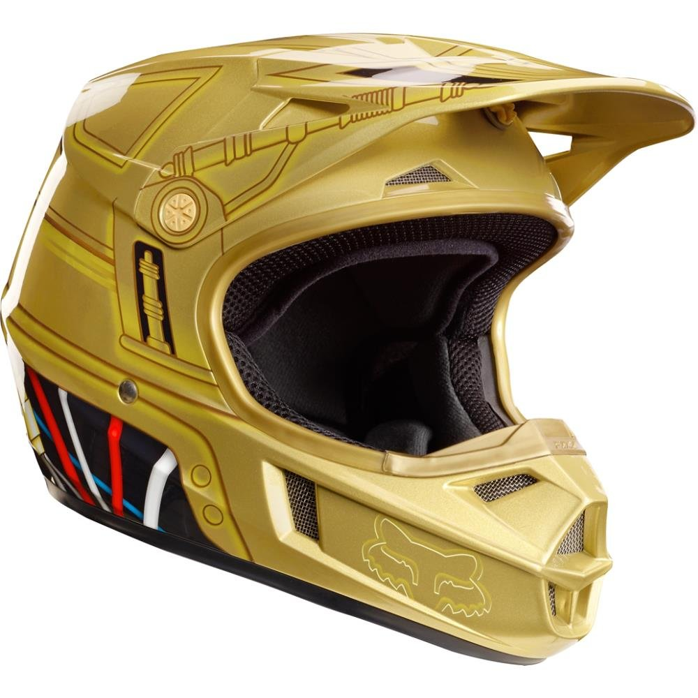 FOX RACING V3 C3PO LE HELMET