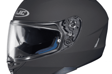HJC IS 17 Full Face Motorcycle Helmet Matte Black Large Automotive