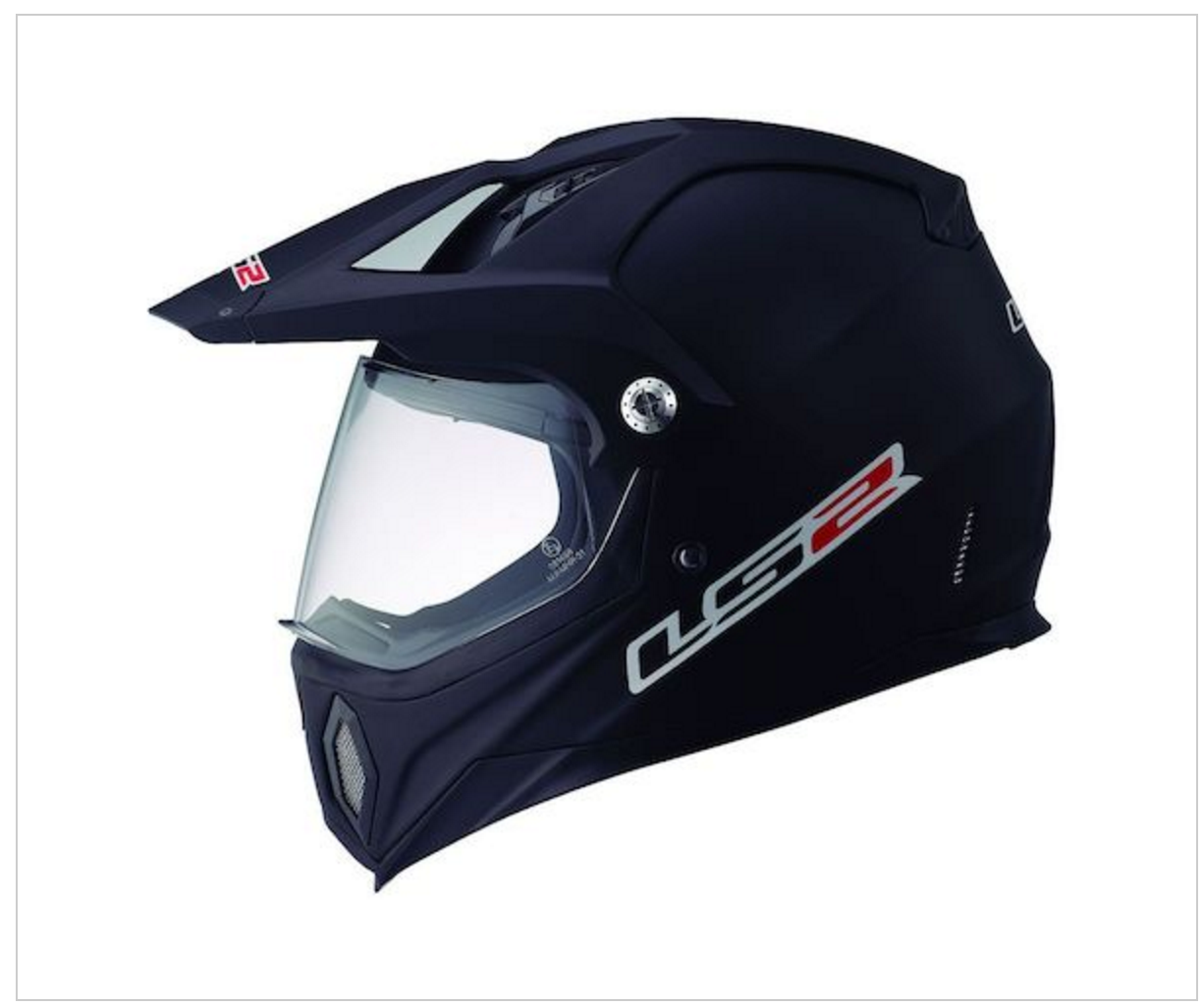 LS2 MX453 Solid Off Road Motorcycle Helmet