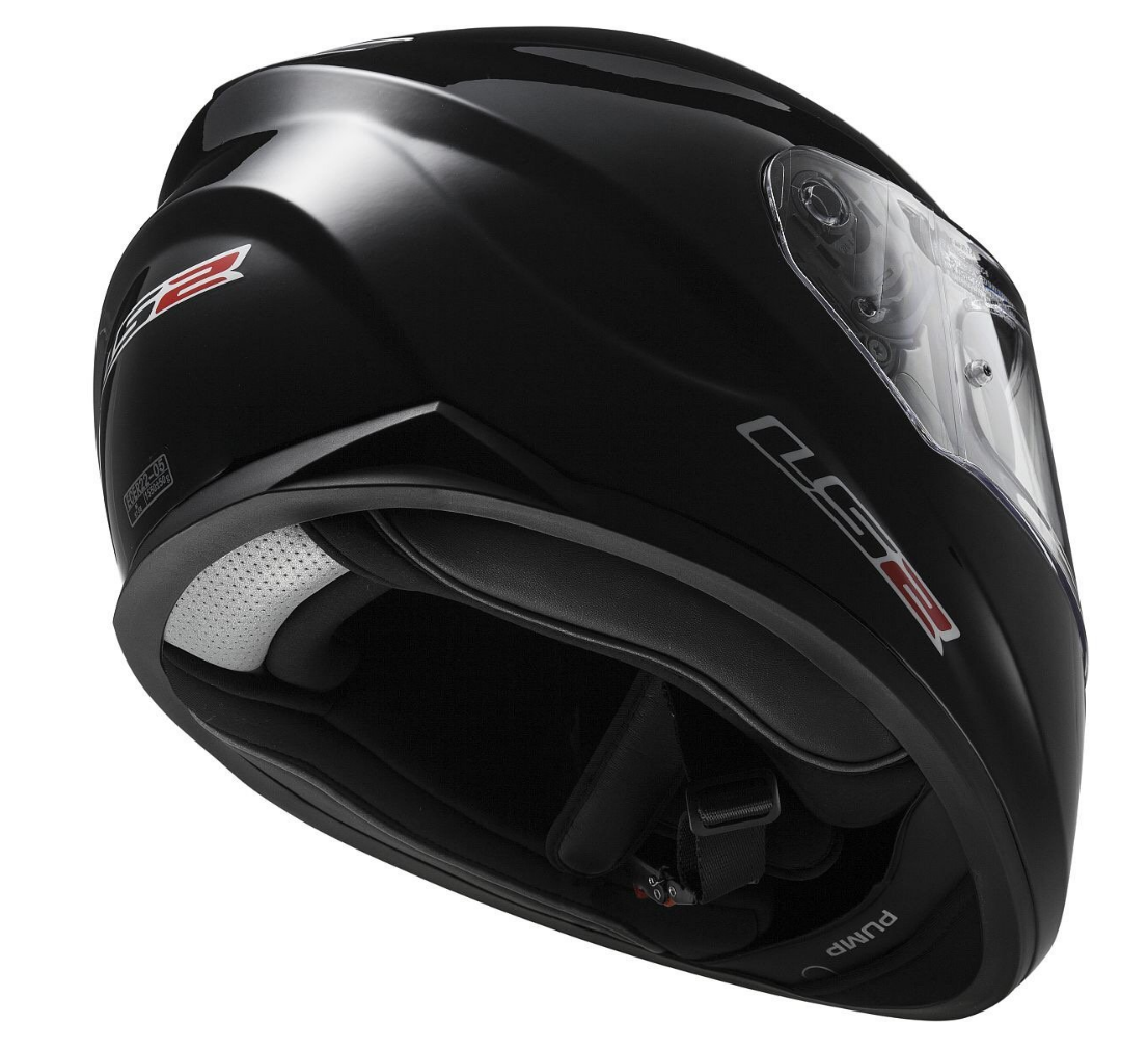 LS2 Stream Solid Full Face Motorcycle Helmet